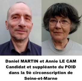 Daniel Martin Annie Le Cam POID Pontault-Combault 77 legende